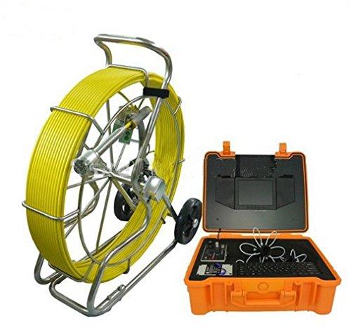 8インチ画面ビデオ録画カメラ700tvl Sewerビデオ検査カメラ100 Mケーブル付き   B06XP25C5C
