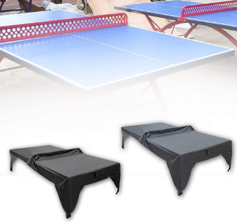 Ping Pong Table Storage Cover Universal Black Sheet Waterproof Useful New