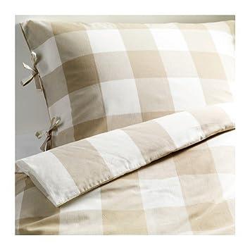 Ikea Bettwäsche Set Emmie Ruta Bettgarnitur 240x220 Cm Und Zweimal