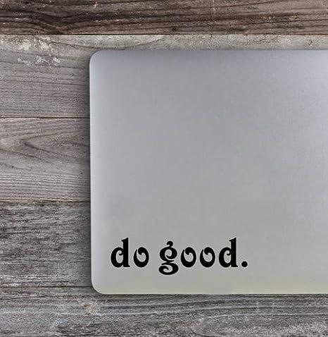 CCM Hacer una Buena Cita Etiquetas engomadas del Ordenador portátil Vinilo Macbook calcomanías para automóviles: Amazon.es: Hogar