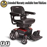 Pride Go-Chair Travel Power Wheelchair w/ avail ext warr incl Batteries (Ruby Red)