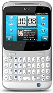 "HTC ChaCha Plata, Color blanco - Smartphone (6,6 cm (2.6""), 480 x 320 Pixeles, 0,8 GHz, 512 MB, LED, Single SIM)"