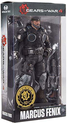 McFarlane Toys Gears of War 4 Marcus Fenix Collectible Action Figure, -