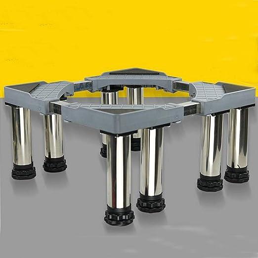 JXXDDQ Soporte de Ocho Patas Base de Metal de Acero Inoxidable ...