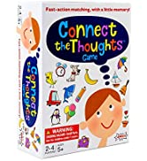 AMIGO Connect The Thoughts Kids Memory amp; Match Card Game