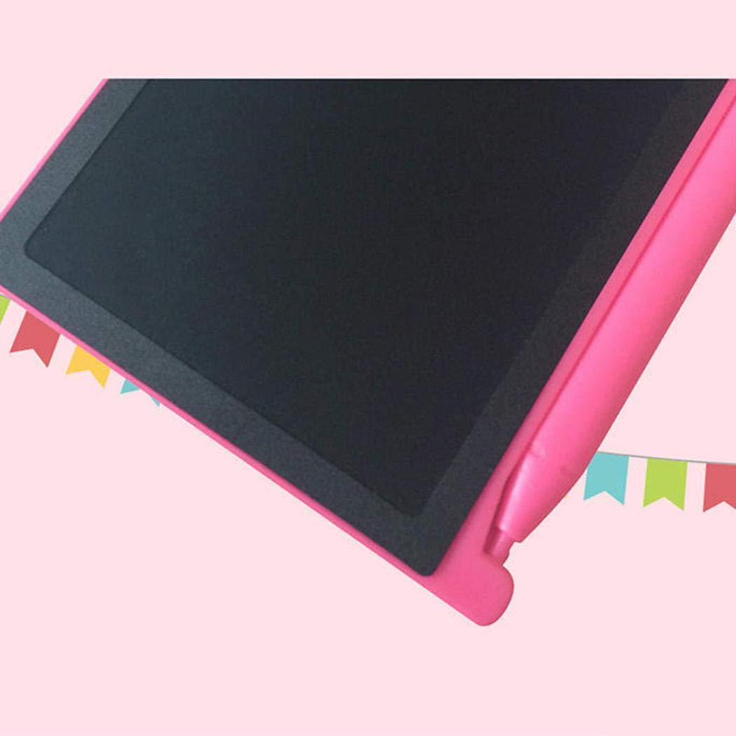 Didade 4.4inch LCD Writing Pad Tablet Drawing Memo Board Kids Mini Writing Pad,Blue and Pink by Didade (Pink)