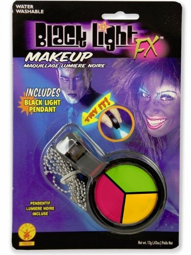 19ff59d73f0 Amazon.com   Black Light Reactive Neon Makeup with Black Light Pendant  (Yellow)   Makeup Sets   Beauty