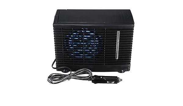 GOZAR 24V Portable Home Car Refrigerador Refrigeración Ventilador ...