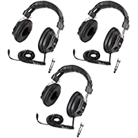 Califone 3068AV Switchable Stereo/Mono Headphones 3-Pack Bundle