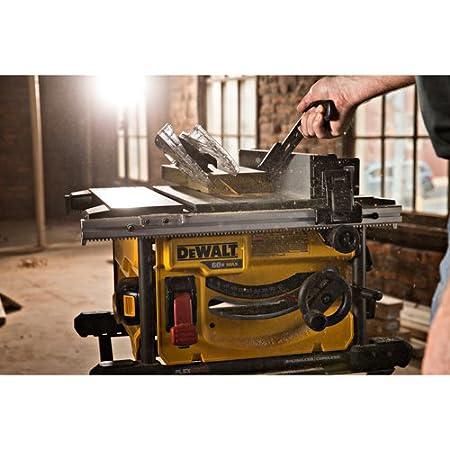 DEWALT DCS7485T1 FLEXVOLT kit de sierra de mesa de 60 V Max, 8-1/4 ...