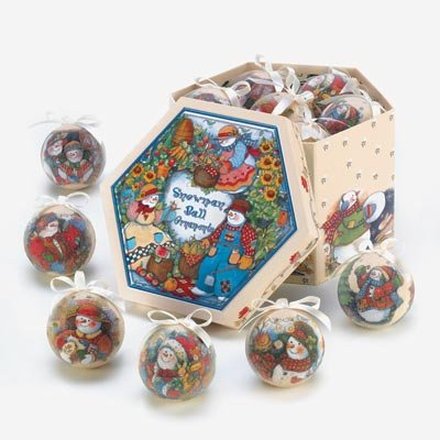 Country Snowman Ornament (Country Snowman Ornament Box Set)