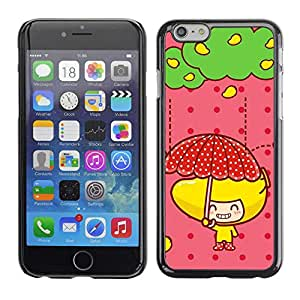 "Exotic-Star ( Cute Fruit Girl ) Fundas Cover Cubre Hard Case Cover para 4.7"" iPhone 6"