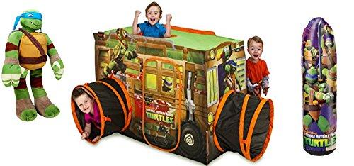 Exclusive Teenage Mutant Ninja Turtles Gift Set 3' [Playhut, Training Bag & Pillowtime Pal]