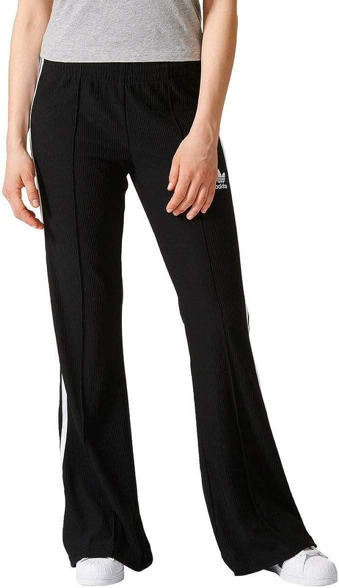 Adidas Pantalón Performance para Mujer, Mujer, Flared, Negro, 38 ...