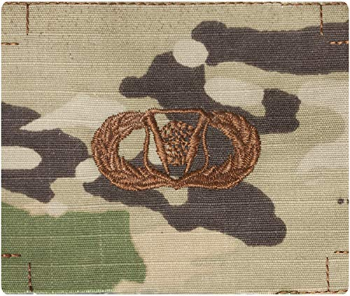 (Air Force Command and Control OCP Scorpion Sew-On Badge (Basic))