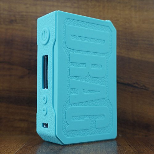 ModShield for VOOPOO Drag 157W TC Silicone Case ByJojo Sleeve Cover Wrap Shield Skin (Teal) (Skin Shield Cover)