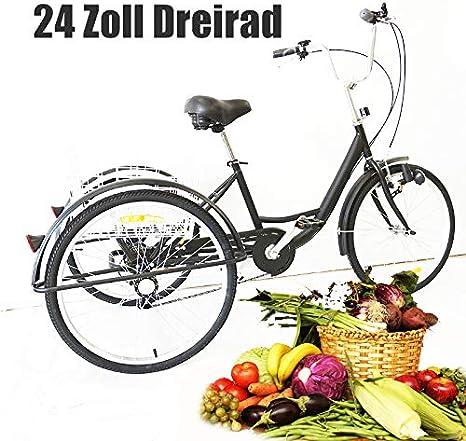 YIYIBY - Triciclo para Adultos, Bicicleta de Carga para Adultos ...