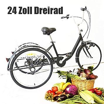 YIYIBY - Triciclo para Adultos, Bicicleta de Carga para Adultos, Bicicleta para Adultos,