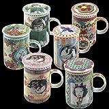 Signes Grimalt - Mug Con Tapa y Filtro Surtido (1 unidad) 12 cm 40548SG