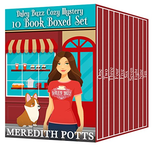 Daley Buzz Cozy Mystery Ten Book Boxed Set cover