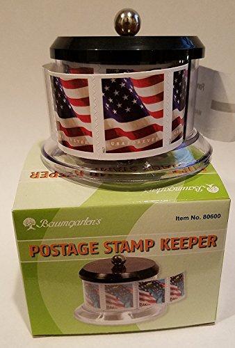 USPS Forever Stamps Star Spangled Banner Roll of 100 Postage Stamps + Baumgartens Postage Stamp Keeper (Stamp Design May Vary)