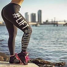 ABC Women High Waist Workout Fitness Leggings Sports Stretch Yoga Pants Trousers