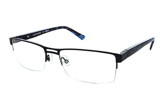 Amazon.com: Austin Reed M06 Mens Eyeglass Frames - Matte Charcoal ...