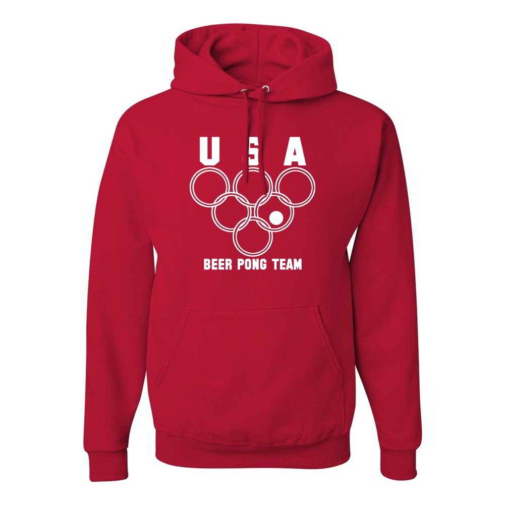 Cheapasstees Usa Beer Pong Team Graphic Hoody 7178 Shirts