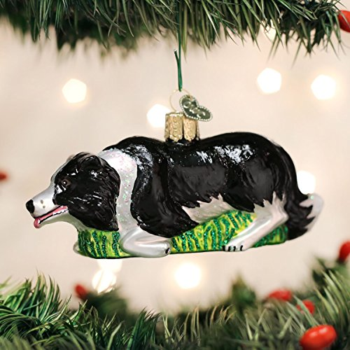 Old World Christmas 12510 Ornament, Herding Border Collie