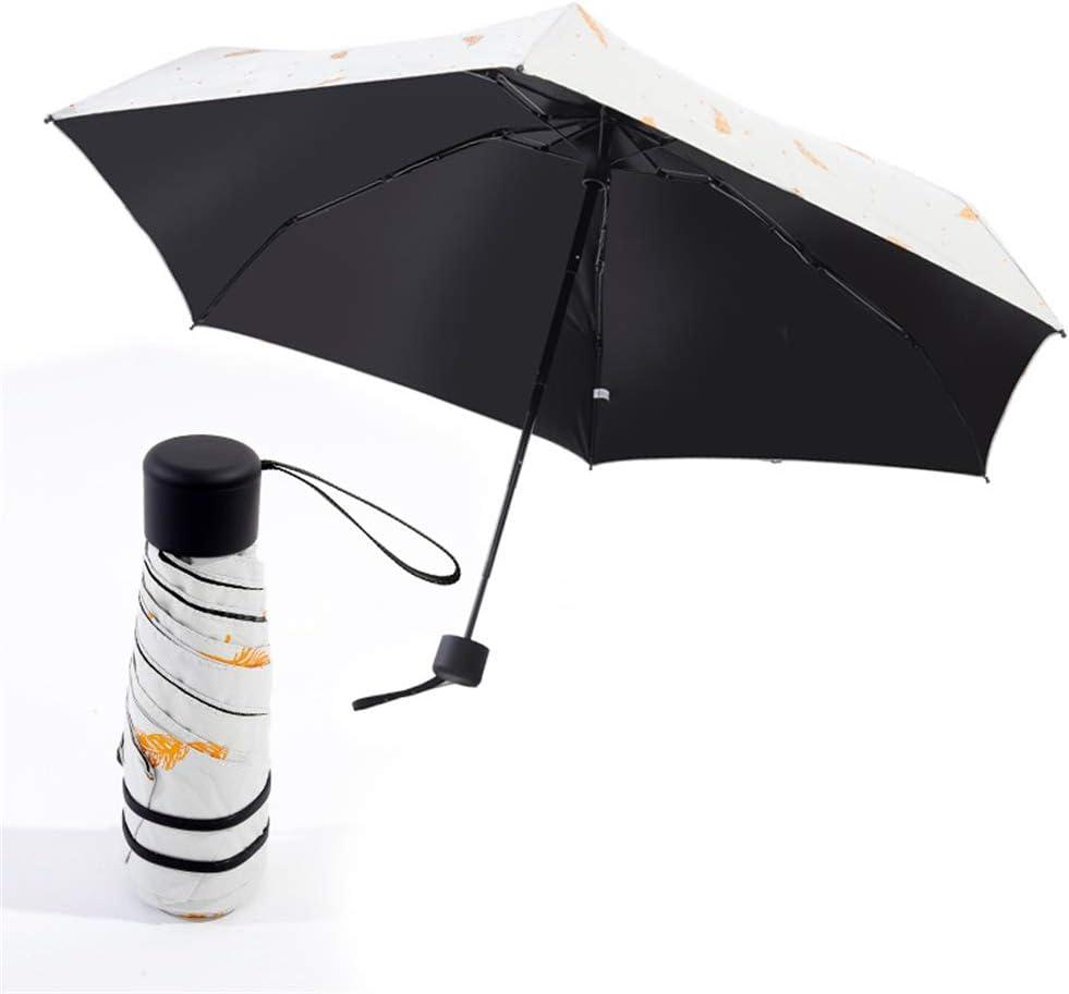 Comeyang Paraguas Compacto y a Prueba de Viento Que Abre y Cierra automáticamente el Paraguas Plegable,Sombrilla Ultraligera de 50 Pliegues Protección UV Paraguas Plegable colour7 95cm: Amazon.es: Hogar