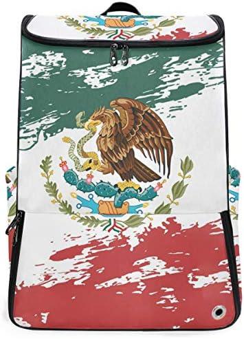 リュック メンズ レディース リュックサック 3way バックパック 大容量 ビジネス 多機能 メキシコの旗 スクエアリュック シューズポケット 防水 スポーツ 上下2層式 アウトドア旅行 耐衝撃