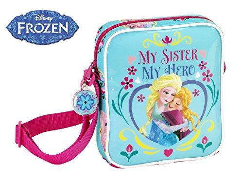 Disney Frozen 16cm My Sister My Hero mini borsa a tracolla, rosa