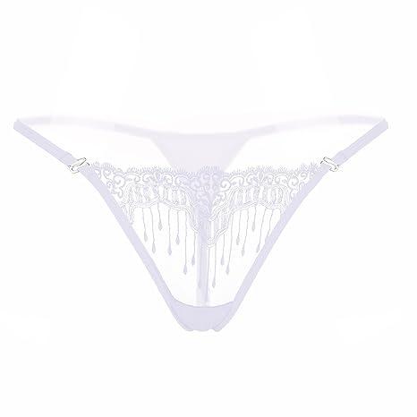 65a151cb9a YUN Tanga Slip con apertura mutandine perizoma slip perla per le donne  stile nuovo design Underwear ...