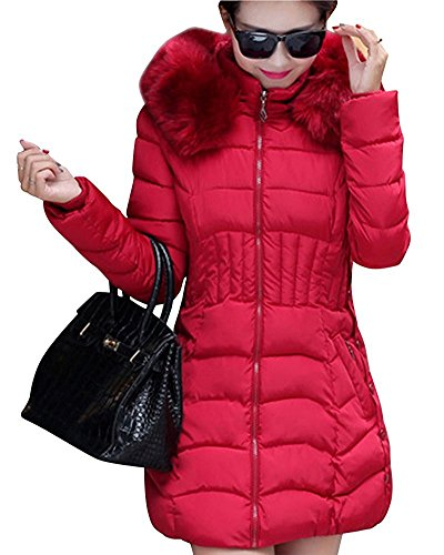Abrigo mujer Manga rojo para vino Larga Misschicy Sgdqg