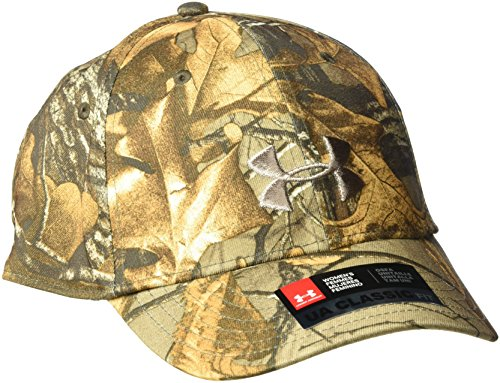 Under Armour Women's Camo Cap, Realtree Ap-Xtra /Metallic Beige, One Size ()
