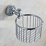 SSBY European classic creative copper waterproof toilet roll holder toilet roll holder toilet paper holder