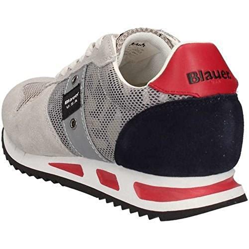 Uomo 02 8S Memphis Blauer Blauer Grey 8SMEMPHIS02 Sneakers USA 7EWgaq
