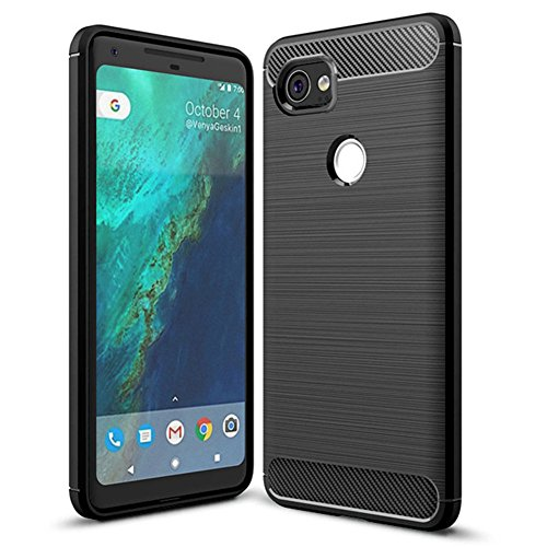 Google Pixel XL 2 Case,Pixel XL2 case - Suensan TPU Shock Absorption Technology Raised Bezels Protective Case Cover for Google Pixel 2 XL Case(6.0