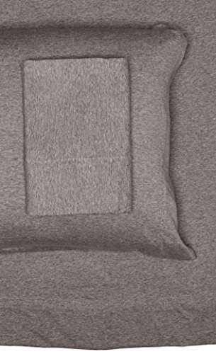 Jersey Knit Cotton Sheets (INK+IVY II20-081 Cotton Jersey Knit Heathered Sheet Set Queen Grey,Queen)