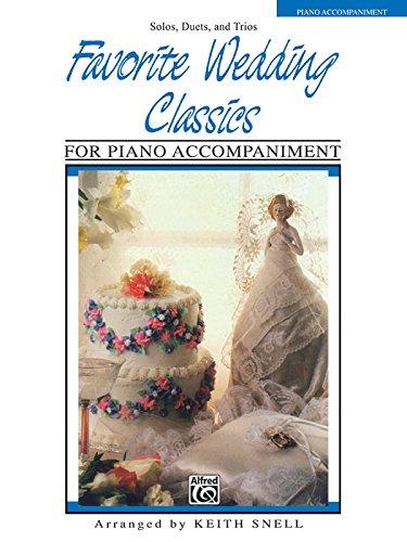 Favorite Wedding Classics: Piano Acc. (Favorite Series) ()
