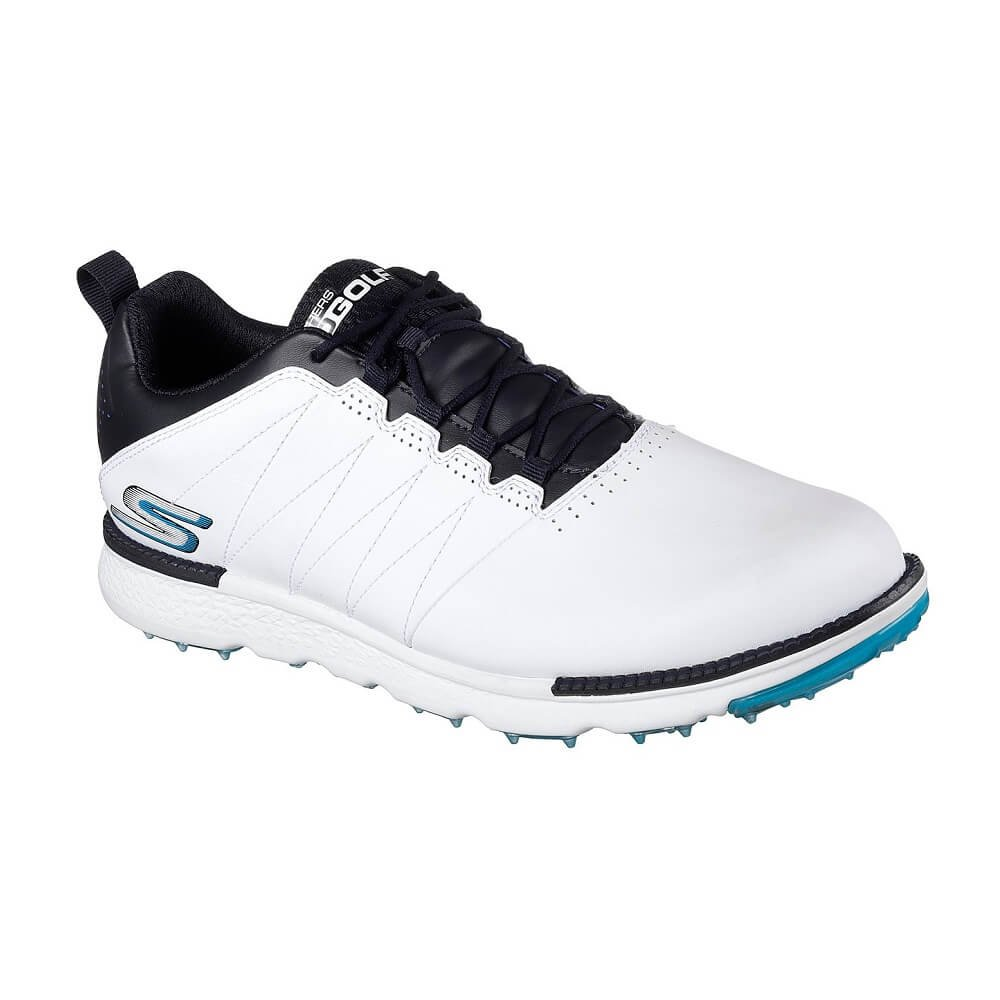 Skechers Men's Go Golf Elite 3 Golf Shoe,White/Navy,11.5 M US by Skechers
