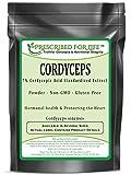 Cordyceps Mushroom - 7% Cordycepic Acid Extract Powder (Cordyceps sinensis), 12 oz