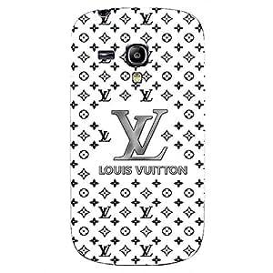 Classical Louis Vuitton Logo Phone Case Theme 3D Hard Plastic Case Cover Snap on Samsung Galaxy S3 MINI