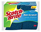 Scotch-Brite Non-Scratch Scrub Sponge, 6-Sponges: more info