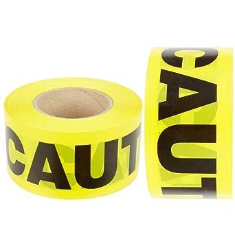 Rollo de cinta de precaución, 2 unidades, para garantizar la ...