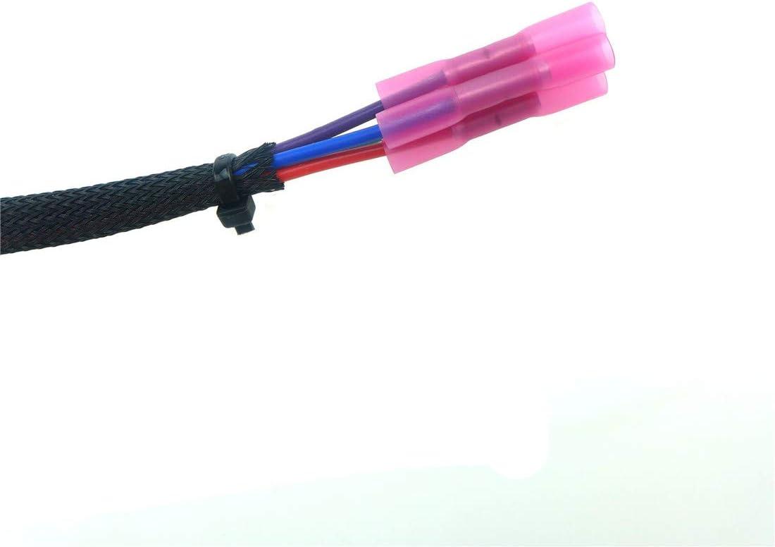 TBAP Wires 4 Pin T-Bap Temp//Baro Sensor Wires Pigtail Harnesses for Polaris Ranger Sportsman 700 750 800 EFI UTV ATV replace 2875542 2878494 T-Bap Wiring Repair Harness