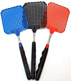 IIT 90342 Telescoping Fly Swatter - Assorted Colors by IIT