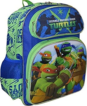 TMNT Ninja Turtles Tough Guy Deluxe 3D Embossed 14 School ...