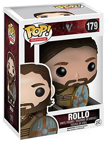 Vikings Rollo Pop! Vinyl Figure by Fu