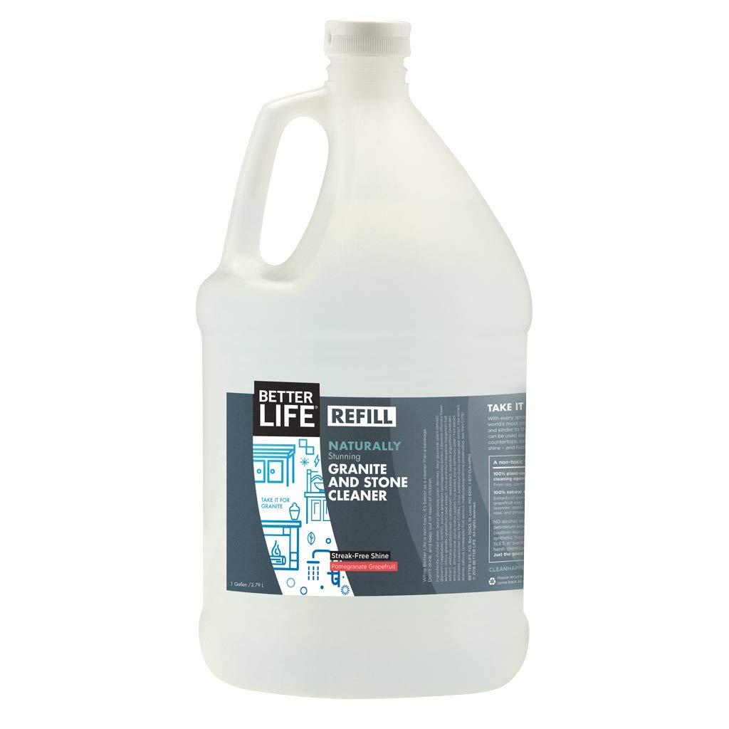 Better Life Natural Granite and Stone Cleaner, 128 Ounce